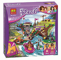 Конструктор Bela Friends Спортивный лагерь дом на дереве аналог LEGO Friends 739 дет