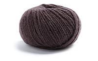 Нежная пряжа для вязания Lamana-Bergamo 06 Maronenbraun_Chestnut-Brown, коричневый, каштановый