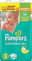 Памперсы для детей PAMPERS ACTIVE BABY 3 124шт. Giant Pack Plus