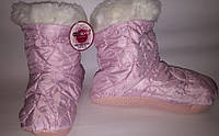 Сапожки для дома тапочки р35/36 розовые арт7069