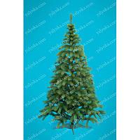 Ёлка, ель искусственная литая 1.5м Буковельская, новогодняя елка, сосна на новый год, искуственная ёлка