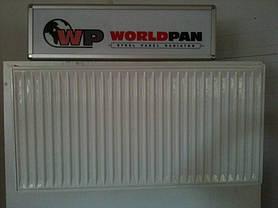 Стальной Радиатор отопления (батарея) 500x1400 тип 22 WorldPan (боковое подключение), фото 2