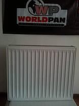 Стальной Радиатор отопления (батарея) 500x1400 тип 22 WorldPan (боковое подключение), фото 3