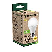 Лампа светодиодная ENERLIGHT A60 8Вт 3000K E27