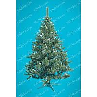 Ёлка, ель искусственная 1.8м Карпатская с белыми кончиками, новогодняя елка, сосна на новый год, искуственная ёлка