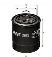 Фильтр масляный TOYOTA (производитель Hengst) H206W