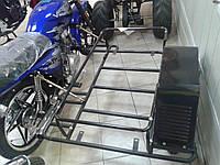 Боковой прицеп , коляска для мопеда Альфа и Дельта( Alfa и Delta)