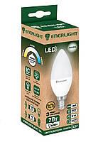 Лампа світлодіодна ENERLIGHT С37 7Вт 4100K E14