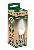 Лампа светодиодная ENERLIGHT С37 5Вт 3000K E27