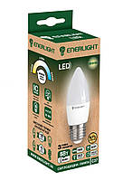 Лампа світлодіодна ENERLIGHT С37 5Вт 3000K E27