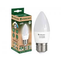 Лампа світлодіодна ENERLIGHT С37 5Вт 4100K E27