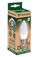 Лампа світлодіодна ENERLIGHT С37 6Вт 4100K E27