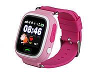 Детские GPS часы UWatch Baby Q90 Розовый