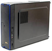 Корпус GTL M01-BU Black/Blue / 450W / Micro ATX / Mini ITX