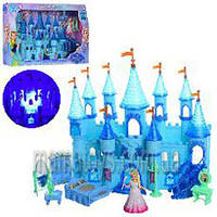Кукольный дом Замок SG-29003 Фрозен принцессы, 31 см, муз, свет, мебель, фигурка 10 см,