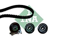Ремень, ролики ГРМ ( комплект) OPEL, CHEVROLET, DAEWOO (производитель Ina) 530 0049 10