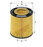 Фильтр масляный OPEL VECTRA C 1.9 CDTI (пр-во HENGST) E46HD126
