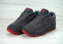 """Зимние мужские кроссовки Nike Air Max 90' VT Tweed """"Grey"""", найк, айр макс. ТОП Реплика ААА класса., фото 3"""