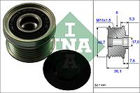 Шкив генератора с обгонной муфтой (пр-во INA) 535 0134 10