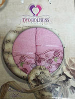 Набор махровых полотенец Romantic styles pink