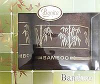 Набор бамбуковых полотенец Bamboo brown