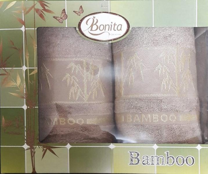 Набор бамбуковых полотенец Bamboo begie