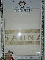 Набор махровых полотенец Sauna men crema