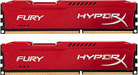 DDR3 2x8GB/1600 Kingston HyperX Fury Red (HX316C10FRK2/16)