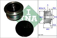 Шкив генератора с обгонной муфтой (производитель Ina) 535 0114 10