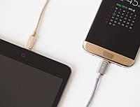 Магнитный кабель ASAP X-Connect Lighting (Apple) зарядка 2.4А  для iPhone / iPad (Gold), фото 1
