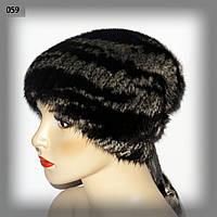 Женскаяя меховая шапка из норки(с утяжкой)