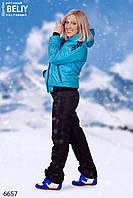 Зимний женский спортивный костюм дутик