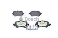 Колодка тормозная OPEL ASTRA G заднего (производитель Bosch) 0 986 424 646