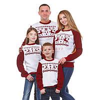 Семейные свитшоты. Свитшот для всей семьи Олени, фото 1