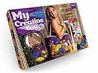 "Сумка вишита стрічками та бісером ""My Creative Bag"" (асорт./5), арт. 5389 (MCB-01-01/05), Danko Toys"