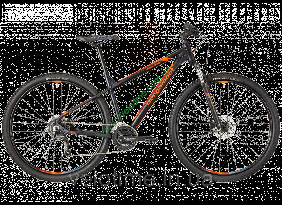 """Bergamont 29"""" Revox 3.0 2018 год (48 см, черный-оранжевый)"""