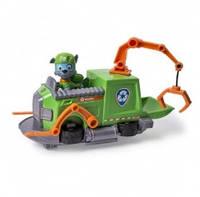 """Игровой набор Paw Patrol """"Спасательный буксировочный катер с фигуркой Рокки"""""""