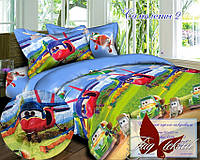 Стеганное покрывало-одеяло для детей Самолеты 2 (160х212) (Pokryvalo-020)