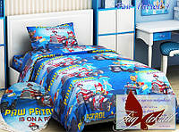 Стеганное покрывало-одеяло для детей  Paw patrol 4 (160х212) (Pokryvalo-017)
