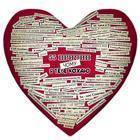 Подушка сердце Чому я тебе кохаю 15L058, фото 1