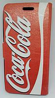 """Чехол-книжка Double Case """"Coca-Cola/Jack Daniel's"""" для Lenovo A5000"""