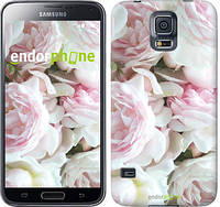 "Чехол на Samsung Galaxy S5 Duos SM G900FD Пионы v2 ""2706c-62-532"""