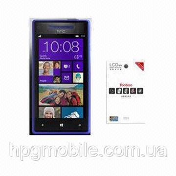 Защитная пленка для HTC 8X Accord C620e - Yoobao screen protector (clear), глянцевая