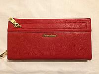 Красный мягкий кошелёк, фото 1