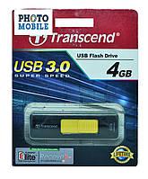 USB-флеш накопитель Transcend JetFlash 760 4Gb (черный)