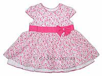 Платье для девочки Garden Baby 45040-12 р.80 розовый