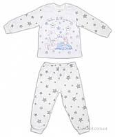 Пижама для ребенка Garden Baby 34025-07 р.110 молочный
