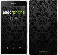 "Чехол на Sony Xperia Z2 D6502/D6503 узор черный ""1612c-43-532"""