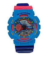Часы наручные G-SHOCK  Casio 5081 (синие)