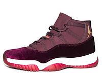 Кроссовки женские (36-41) DXL-Nike-Jordan-wine (28$)